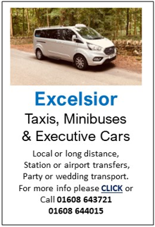 ExcelsiorTaxis, Minibuses or Executive Cars for Cold Aston Airport Transfers, Wedding transport, urgent pacel delivery cotswold tours